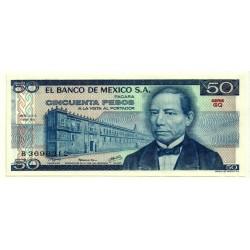 (67b) Estados Unidos Mexicanos. 1979. 50 Pesos (SC)