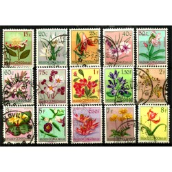 Congo Belga. Serie Completa. Flora