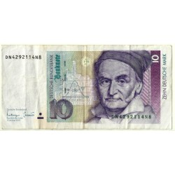 (38c) Alemania. 1993. 10 Mark (BC)