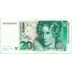 (39b) Alemania. 1993. 20 Mark (MBC)