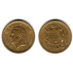 (120a) Mónaco. 1945. 1 Franc (MBC+)