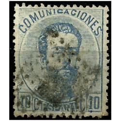 (121) 1872. 10 Céntimos