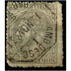 (204) 1879. 25 Céntimos