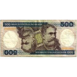 (200a) Brasil. 1981-85. 500 Cruzeiros (BC)