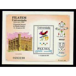 (3648) 1999. 185 Pesetas. Filatem - Universidad Palma