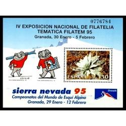 (3340) 1995. 130 Pesetas. Exposición de Filatelia Temática FILATEM