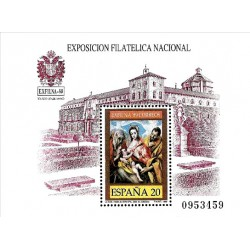 (3012) 1989. 20 Pesetas. Exposición Filatélica Nacional