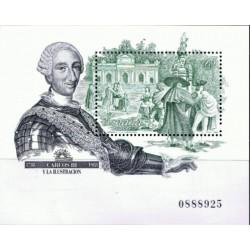 (2984) 1988. 45 Pesetas. Carlos III y la Ilustración