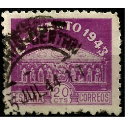 (967) 1943-44. 20 Céntimos. Año Santo Compostelano