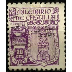 (974) 1944. 20 Céntimos. Milenario de Castilla