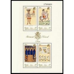 (3236) 1992. 27 Pesetas (Minipliego de 4 uds). Patrimonio Artístico Nacional. Códices