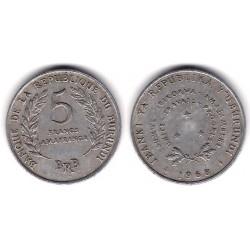 (16) Burundi. 1968. 5 Francs (EBC)