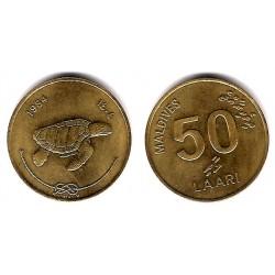 (72) Maldivas. 1984. 50 Laari (SC)