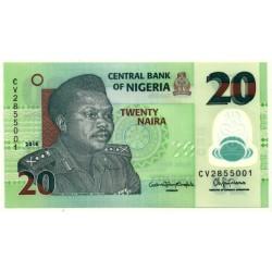 Nigeria. 2016. 20 Naira (SC)