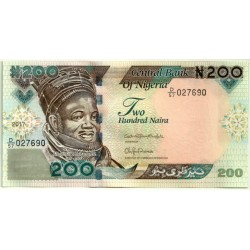 Nigeria. 2017. 200 Naira (SC)