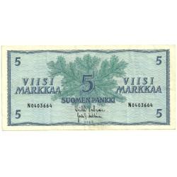 (99) Finlandia. 1963. 5 Markaa (MBC)