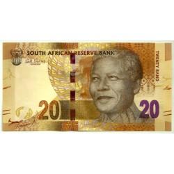 (134) Sudáfrica. 2012. 20 Rand (SC)