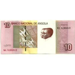 Angola. 2012. 10 Kwanzas (SC)