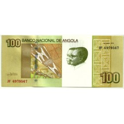 (153) Angola. 2012. 100 Kwanzas (SC)