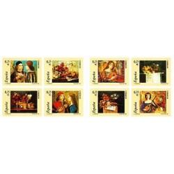 (3925 a 3932) 2002. 8x 0,25 Euro. Carné de ocho sellos. La música.