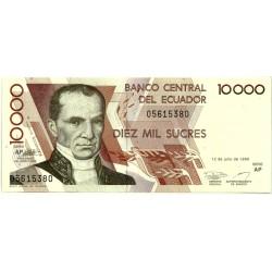 (127e) Ecuador. 1999. 10000 Sucres (SC)