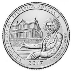 Estados Unidos de América. 2016(D). Quarter Dollar (SC) Shawnee