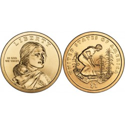 (467) Estados Unidos de América. 2009(D). 1 Dollar (SC) Native