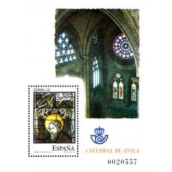 (4196) 2005. 2,21 Euro. Vidrieras de la catedral de Ávila