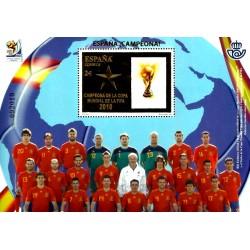 (4608) 2010. 2 Euro. España campeona de la Copa Mundial de la FIFA