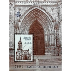 (4612) 2010. 2,75 Euro. Catedral de Bilbao