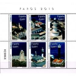 (4594) 2010. 6x 0,64 Euro. Faros