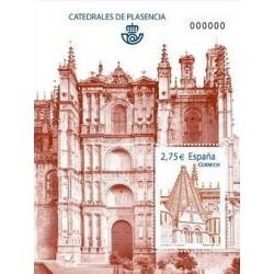 (4552) 2010. 2,75 Euro. Catedrales de Plasencia