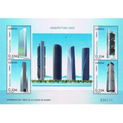 (4507) 2009. 4x 0,32 Euro. Arquitectura