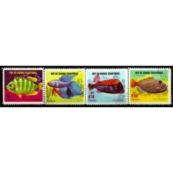 Guinea Ecuatorial. Serie mini. Peces