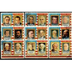 Guinea Ecuatorial. Serie Completa. Bicentenario de los Estados Unidos