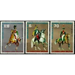 Guinea Ecuatorial. Serie mini. Caballeria Militar