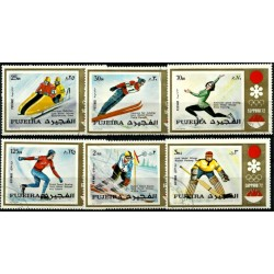 Émiratos Árabes Unidos (Fujeira). Serie Completa. Juegos Olimpicos de Invierno