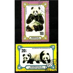 Mongolia. 1977. Serie Mini. Ailuropus Melanoleucus