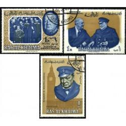 Emiratos Árabes Unidos (Ras Al Khaima). Serie Completa. In Memory of Winston S. Churchill
