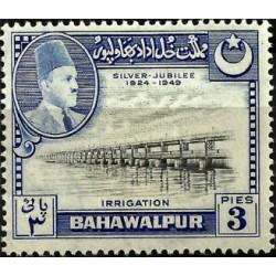 Bahawalpur. 1949. 3 Pies