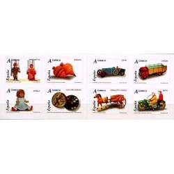 (4199 a 4206) 2006. Carné de ocho sellos. Juguetes