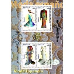 (4494) 2009. 4x 0,32 Euro. Moda Española