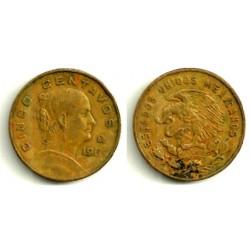 (426) Estados Unidos Mexicanos. 1969. 5 Centavos (MBC)