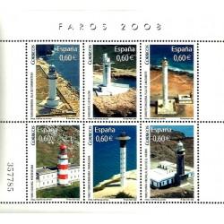 (4430) 2008. 6x 0,60 Euro. Faros