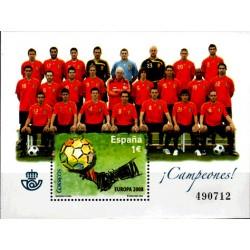 (4429) 2008. 1,00 Euro. Selección Española de Fútbol, campeona de Europa 2008