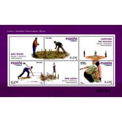 (4421) 2008. 3x 0,43 Euro. Juegos y deportes tradicionales