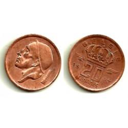 (147.1) Bélgica. 1954. 20 Centimes (MBC)