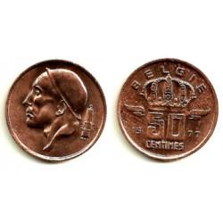(149.1) Bélgica. 1977. 50 Cents (SC)