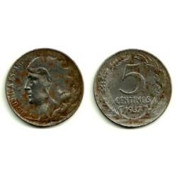 1937 5 Céntimos (MBC)