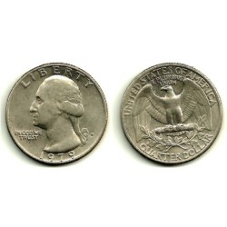 (164a) Estados Unidos de América. 1979(D). Quarter Dollar (BC+)